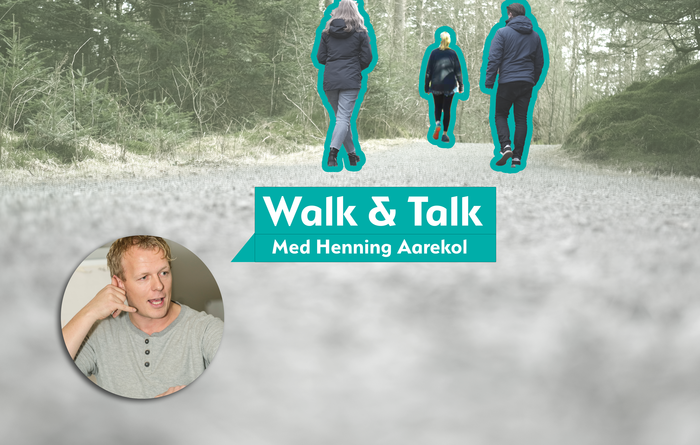 Inviterer til Walk & Talk